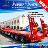 Semi Aanhangwagen van het Bed van het Platform van de tri-As 60tons van de Prijs van de schok de Lage voor Verkoop