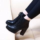 Punk negra Womens Zapatos de Tacón Botines vestido gótico