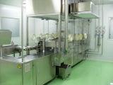 Enchimento líquido da injeção e máquina tapando de borracha