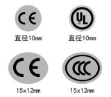 Свернутые теплочувствительные ярлыки бумаги печатание (ST-056)
