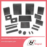 Manufactured a magnete permanente del ferrito del blocchetto di alta qualità da Factory per bisogno del cliente