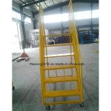 Цинк складная склад обработка грузов стремянки стальные подвижные лестницы