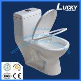 Toilette monopièce superbe en céramique de Jx-2# Siphonic avec du ce et le Saso Certifcate