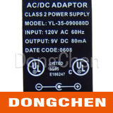 Het zilveren Etiket van de Batterij van de Waarschuwing van Ce UL van de Folie Elektronische