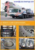 Vitesses internes pivotant les roulements L9-57n9z de plaque tournante de roulements à billes de Rotek de roulements de boucles pour des grues de camion de pompe
