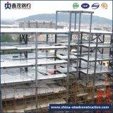 Edifício Prefab personalizado do edifício pré-fabricado do frame da construção de aço para o canteiro de obras