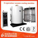 Máquina de cristal de la vacuometalización/planta de metalización plástica del vacío