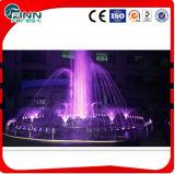Petite fontaine de jardin de l'eau de danse de musique d'acier inoxydable pour la décoration à la maison