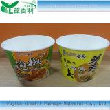 Ciotola di carta a gettare stampata marchio su ordinazione per alimenti a rapida preparazione