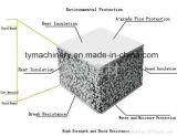 Equipamento à prova de fogo da máquina do painel de parede da divisória do cimento do EPS