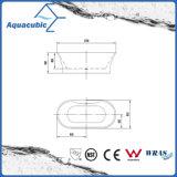 Reine nahtlose freie stehende Luxuxacrylsauerbadewanne (AB6510)
