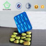 Por encargo de plástico desechables productos frescos la bandeja de la fruta alveolos