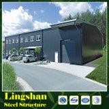 중국 가벼운 강철 구조물 창고 건물