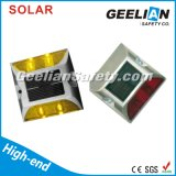 Jaune Blanc Bleu Rouge LED Aluminium Solar Road Stud Lights