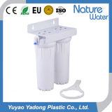 Filtro de Água em 2 estágios com caixa branca