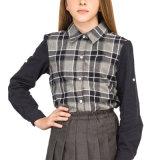 Chemise scolaire élégante et élégante