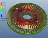 Dispositivo elétrico claro do louro elevado prático do diodo emissor de luz do círculo (xx-F de BFZ 220/140)