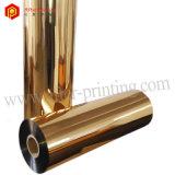 Pellicola di laminazione materiale metallizzata dorata di BOPP