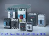 DC / AC 80A-1600A 3 pólos 4 disjuntores de cassete moldado Ns Nsx MCCB