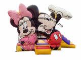 Kleinerer Überbrückungsdraht Mickey&Minie aufblasbarer Prahler