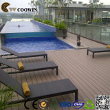 Decking Anti-UV composto ao ar livre do sulco