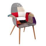 복사 Vitra Eames 부드럽게 나무로 되는 유기 식사 의자
