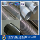 Acero inoxidable 316 Pozo de agua con hilos de la pantalla Protector para la perforación de pozos de petróleo