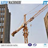Chinesischer Topkit Turmkran Tc6010 8t des Aufbaus