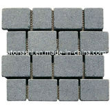 Non-Slip naturale Granite Cube/Cobble Stone per Paving, Paver, Driverway, patio