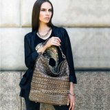 De nieuwe Krokodil Pu van de Manier van de Aankomst Dame Handbag (FE9155)