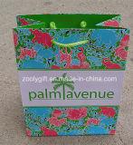 Concevoir les vêtements en fonction du client de sacs à provisions de papier d'imprimerie empaquetant le sac de papier