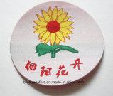 Etiquetas de la ropa del cliente tejidas