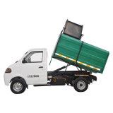 Charge automatique électrique et dumping du camion d'ordures