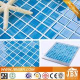 Décoration de couleur bleue Salle de bains piscine mosaïque de verre (G423019)