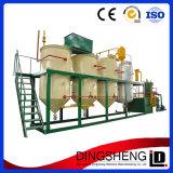 Ligne de production complète de la rice bran le raffinage du pétrole de la machine avec le meilleur service et de bonne qualité