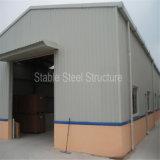 Edificios de acero fabricados de poste del metal con precio barato