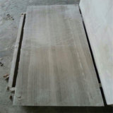 Мрамор травертина прямого зерна зерна мрамора отверстия серебряного серого цвета деревянный