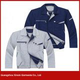 Roupa uniforme de trabalho barata por atacado da fábrica (W155)