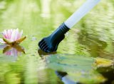 310-35L 1200-1400W Plastikbecken-nasses Reinigung-Teich-Reinigungsmittel mit oder ohne Kontaktbuchse