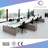 Poste de travail en bois de bureau de modèle moderne