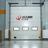 Профессионального изготовления новая конструкции дверь гаража наверху автоматическая секционная изолированная