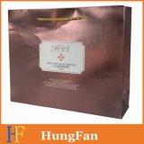 Bolsa de compras de papel de regalo Hf2017 con UV impreso