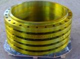 Enxerto de aço forjado na flange (pintura amarela)