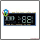 Weiße Zeichen-Schwarz-Hintergrundbeleuchtung negative LCD-Bildschirmanzeige-Baugruppe