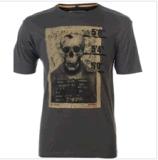 T-shirt impresso de moda para homens (M278)