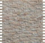Mosaico de pedra usados na parede, rugosidade do mosaico em mármore, Mosaico Tile (FS132)
