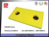 UHMW-PE bianco Sheet con Good Wear Resistance