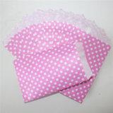 DOT ecológicas bolsas de papel rosa tratar de fiesta