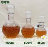 бутылки вина 500ml 750ml Transpora стеклянные для ликвора, водочки, вискиа, духа