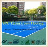 Tennis-Gericht SPU-Cn-S02 Sports Bodenbelag mit Itf Bescheinigung